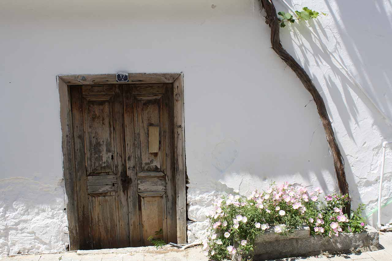 Kalkan old door