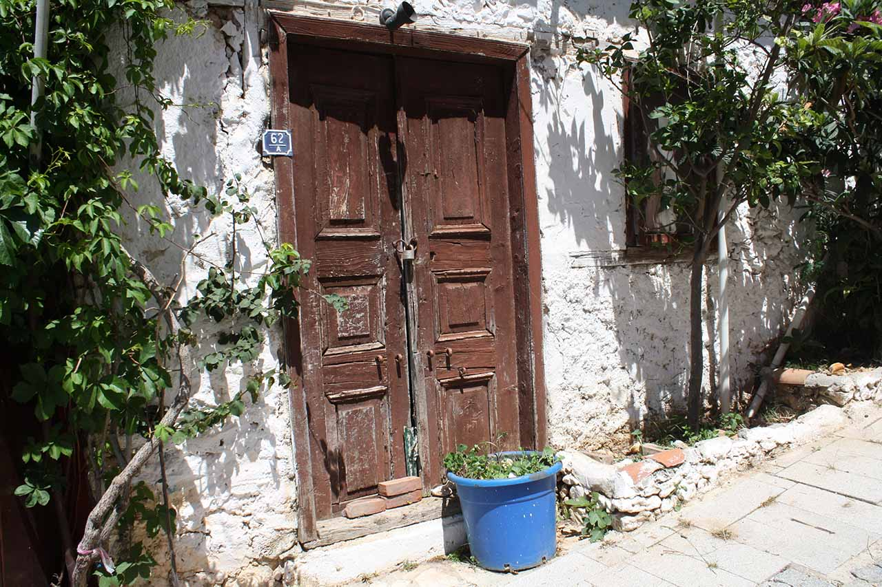 Kalkan old doorway