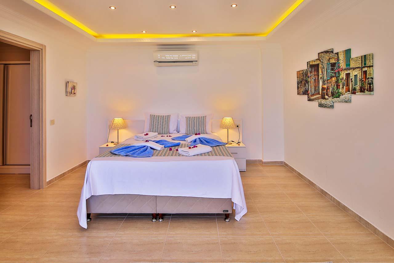Patara villa double bedroom