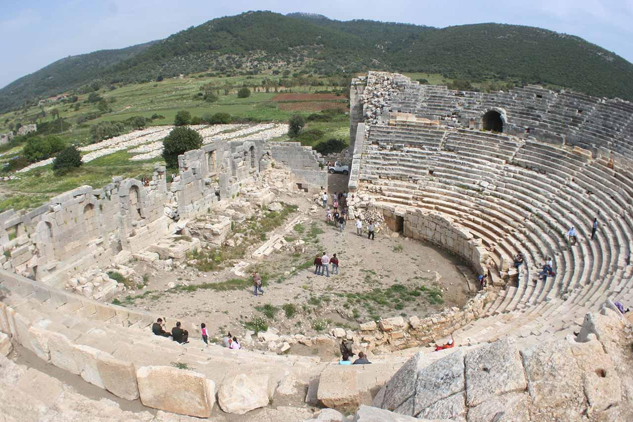 patara amphi theatre